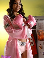 Boxing jade. Horny Sexxxy Jade In exciting Boxing Gear